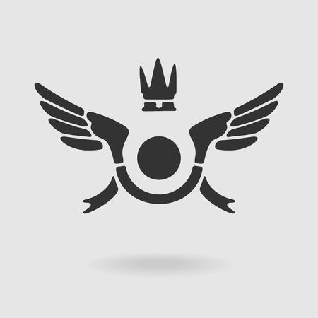 file format: Vector Symbol Wings eps 8 file format