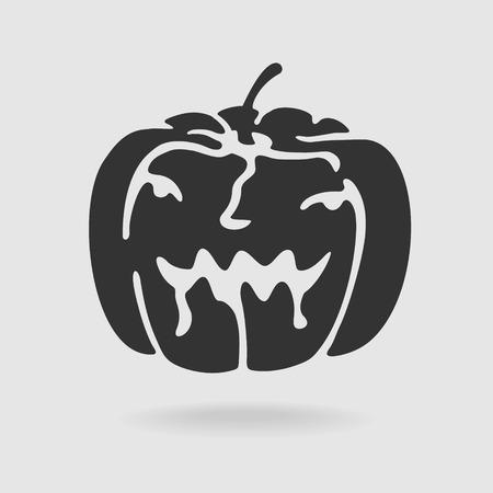 file format: Vector Halloween Pumpkin eps 8 file format