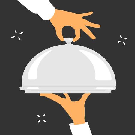 brings: The Waiter Brings Dish eps 8 file format