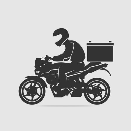 Bike food delivery