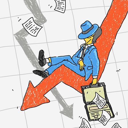 casualty: Financial Crisis Vector