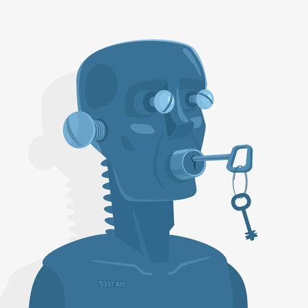 Vector Illustration of Concept Blind Deaf Mute Banco de Imagens