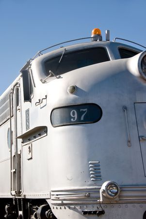 Vintage train waits for passengers to board. Stock Photo - 3139666