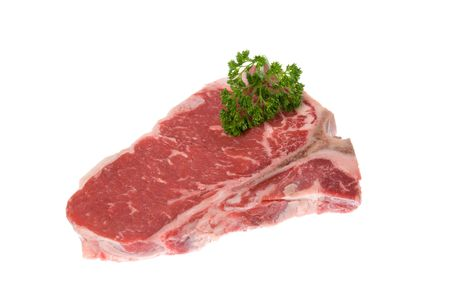 seasoned: Beautiful cut of beef deliciously seasoned and ready to be grilled
