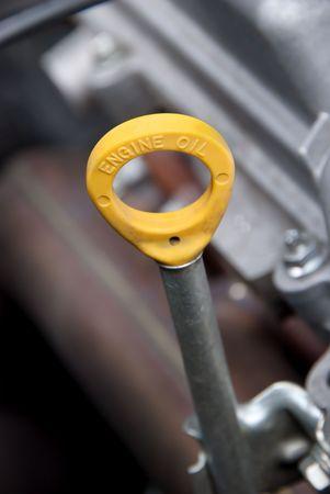 A close up of a car engine oil dip stick Stock Photo - 7627529
