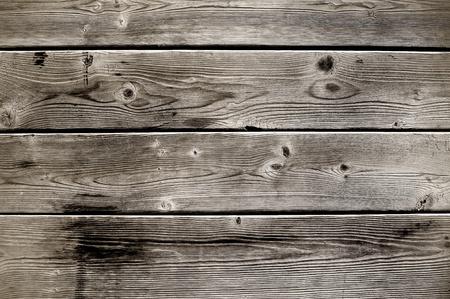 floorboards: Listones de edad, con edades de madera con un aspecto sucio. Foto de archivo