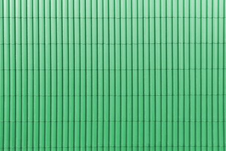 Green roof by vertical pattern photo