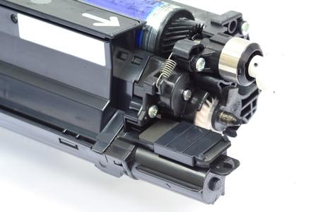Cartridge for copier machine on white background