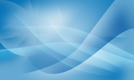 light trails: Abstract design smooth shape by blue color theme background Stock Photo