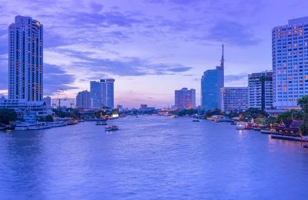 city park boat house: River of Bangkok