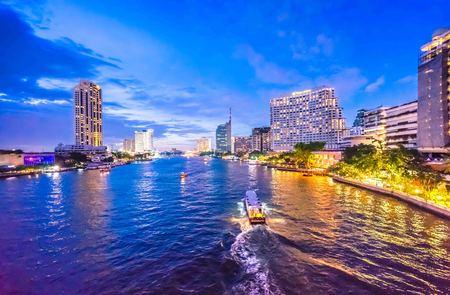 Light of Chao Phraya River