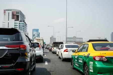 bangrak: Traffic jam on hightway Editorial