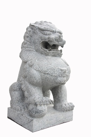 Lion stone is believed to bring luck  Stock Photo - 17589501