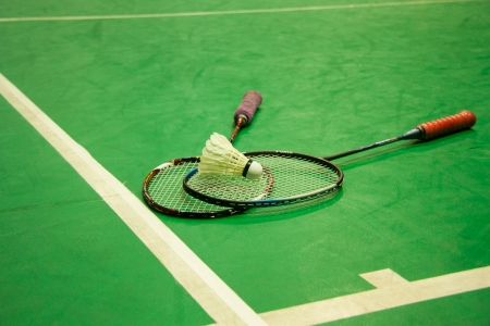 Badminton put together  Competitive sports  Stock Photo