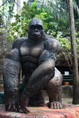 Statue of King Kong. photo