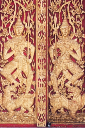 Goal of temple Thailand.