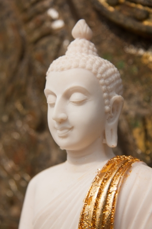 Buddha with white color.