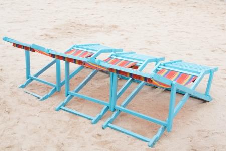 Beach Chair at sea in Thailand.