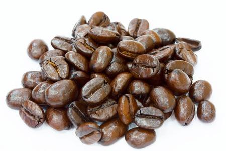 Roasted coffee finish  Stock Photo