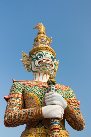 Thailand giant white guardian sacred