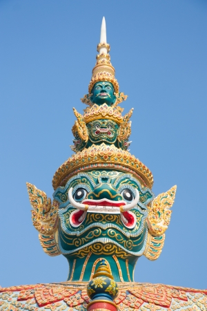 Thailand and the sacred giant