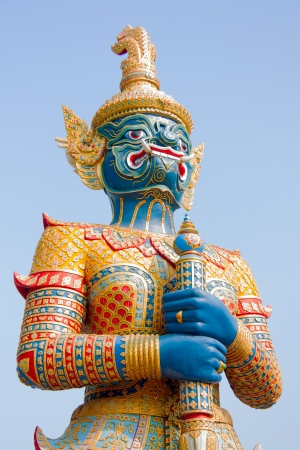Thailand and the sacred giant  photo