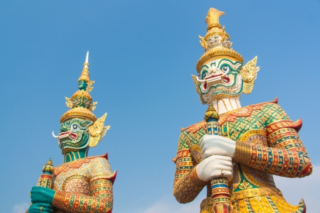 Giants, Thailand, and culture