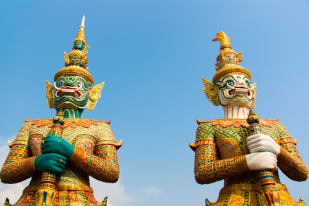 Giants, Thailand, and culture  photo