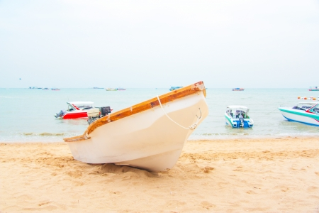 Ships in Thailand, fishing and tourism
