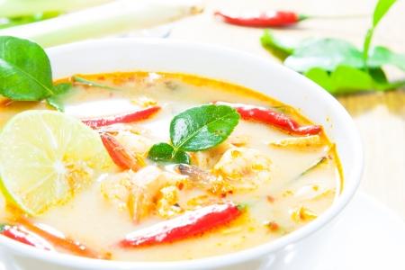 favorite soup: Thai cuisine,Tom Yam Kung.