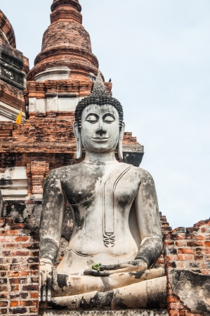 Ancient Buddha statues in Thailand