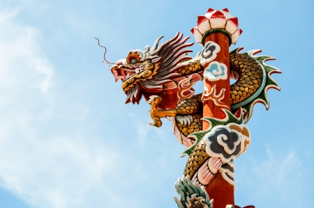Dragon statue and beliefs  Stock Photo - 19934237