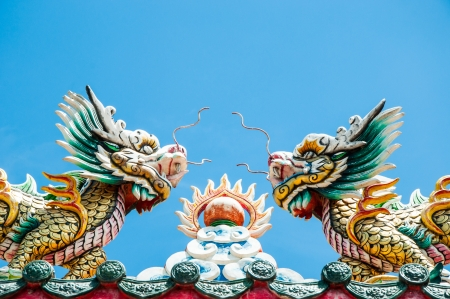 Dragon statue and beliefs Stock Photo - 19934299