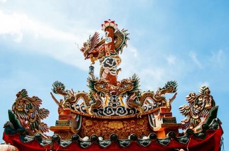 Dragon statue Stock Photo - 19934373