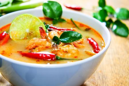 Thailand Essen Tom Yam Kung