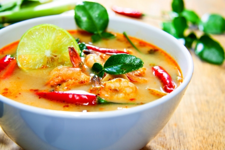 Thailand food  Tom Yam Kung