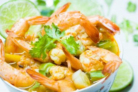 favorite soup: Thailand food  shrimp soup