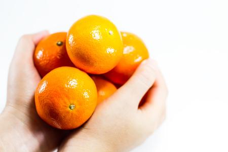 Orange, Tangerine on hand.