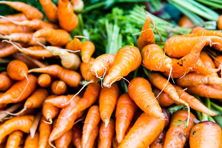 healthily: carrots