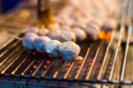 Meatballs, baked and grilled dishes.