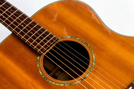 Acoustic guitar sounds great and is a popular instrument.