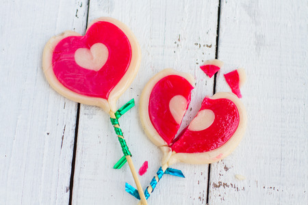 sugarplum: Candy broken heart The sweet and tasty