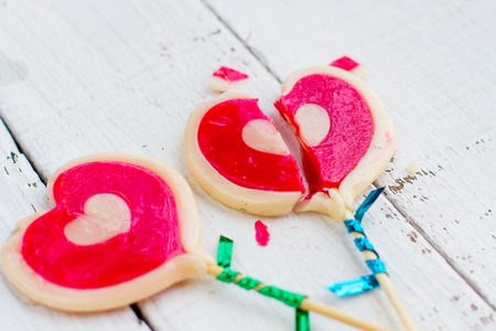 Candy broken heart The sweet and tasty