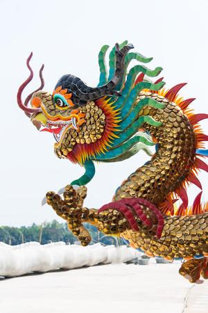 beliefs: Dragon sculpture religious beliefs.