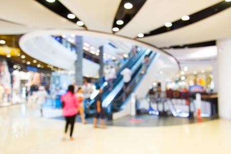 Photo blurry mall, do blurred background. Stock Photo