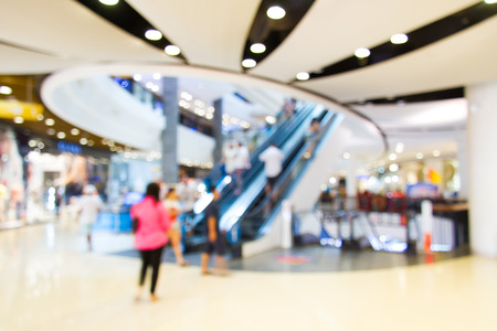 Photo blurry mall, do blurred background. Stock Photo