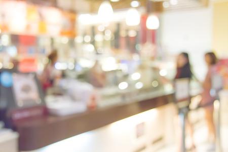 Blurred background TonesCoffee shop blur background