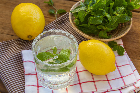 refreshing: Lemon juice is delicious and refreshing.