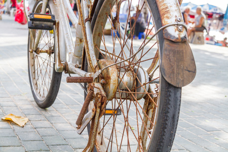 And a rusty old bike, but is still available as well.