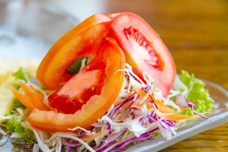 beneficial: Salad for good health and are beneficial to the body. Stock Photo